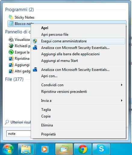 Come Modificare il File Hosts in Windows